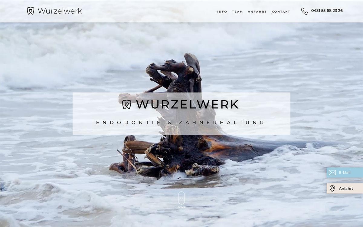 Zahnarztpraxis Website Design